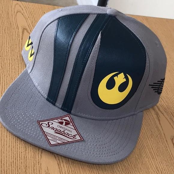a2ec47df67f Star Wars snapback hat force grey green new cap